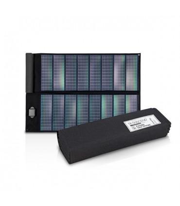 Chargeur de batterie Transcend à énergie solaire